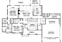 Home plans / by Callie Elton