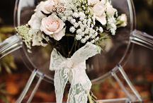 Wedding flowers / Wedding flower and color combinations I like