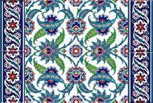 Роспись плитки, витражи, ковры