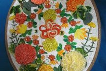 Mixed embroidery and patterns / by Tracey Lague-Solow