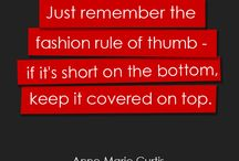 Fashion/Style  Quotes