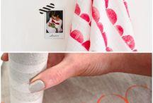 textiel stempelen