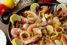 Paella miscela spezie e ricette