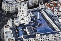 Vistas aéreas de Madrid