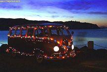 Christmas campervan