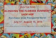Florida Shop Hops / SEW-MINI Things participates in the Florida Shop Hops. Get great fabric and ideas from shops across the state. Don't forget to register for the passport to be eligible to win some great prizes too!