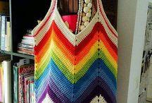 Crochet blankies poufs n mats
