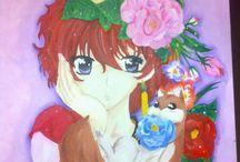 Mis pinturas y dibujos / Pinturas o dibujos hechos por mi (Cynthia Matus)