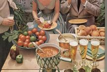 Vintage food images / Retro food imagery