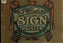 Sign Making Past