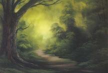 4. Landschaften Acryl & Öl