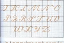 Stickvorlagen Buchstaben