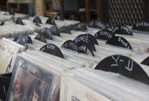 Record Players & Vinyl Records