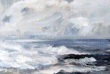 Art Sky , landscape & sea
