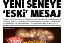 2015 Ocak - Manşetler