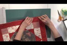Binding aan quilt