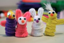 pipe cleaner craft / by MayChin