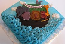 Noah ark birthday theme