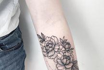 květy tetovani