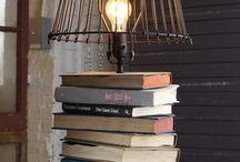 Writing Inspired Art / Art made of books