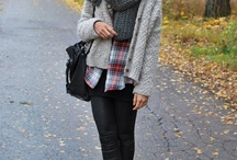 Scarfs and comfy stuff