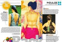 Let your Back do the talking with back pieces from Apala by Sumit. New Indian Express (Indulge)