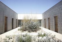 A. Inner garden, courtyard / Inner garden, courtyard