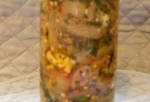 Pickled vegetables / Pickling