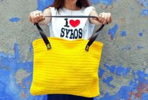 Desperate Artists - Bags - Polyester / Polyester Cord // Leather Straps
