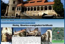 Fortified churches in Romania / In Romania there are many fortified churches with specific architecture, many abandoned by Saxon