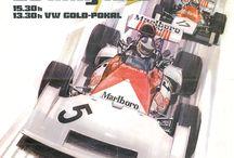 Car and racing poster