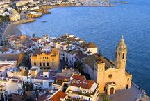Beautiful Sitges / Images of beautiful Sitges and the surrounding countryside.