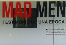 """Exhibición """"Mad Men : Testimonio de una época"""" en el Museo de la Moda. / Fotos de la exhibición """"Mad Men : Testimonio de una época"""" en el Museo de la Moda de Santiago, Chile. Noviembre 2015."""