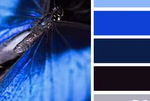 Stylizacje z kobaltową sukienką