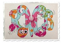 Embroidery Machine, Monogram, Applique / by Audrey 'Lane' Swafford
