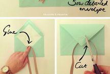 Envelope DIY Ideas