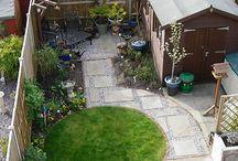 małe ogródki