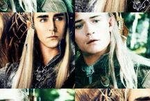 Thranduil & Legolas.