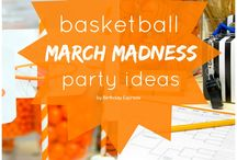 March madness / Basketball party ideas