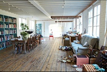 Art Studios / Workspaces that inspire creativity / by Sheila OConnell