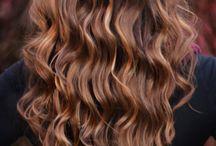Hair, hair and more hair. / Well, hair