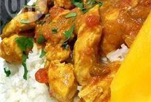 chick & mango curry