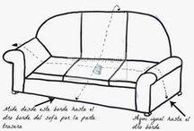 cortos para sofas