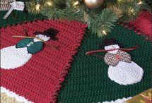 Crochet Tree Skirt