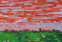 RED ORANGE ART / Your favorite colour in ART