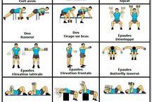 Haltères Exercice