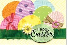 Easter Cards & craft / by Penny D