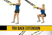 TRX exercices