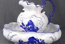 Pitcher And Bowl Sets / by Debbie Klinzing