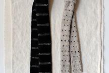 Tie knitting
